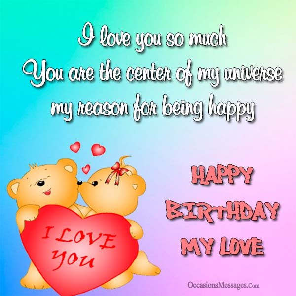 Happy Birthday Romantic Messages For Girlfriend