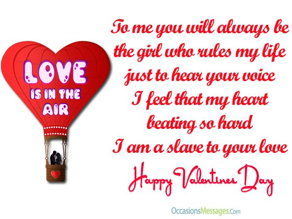 Romantic Valentine S Day Messages For Girlfriend Occasions Messages