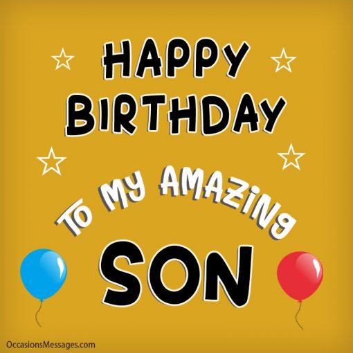 Happy birthday to my amazing son