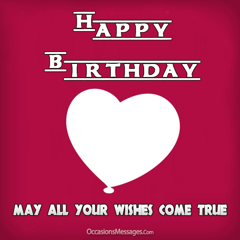 Happy birthday kid with heart