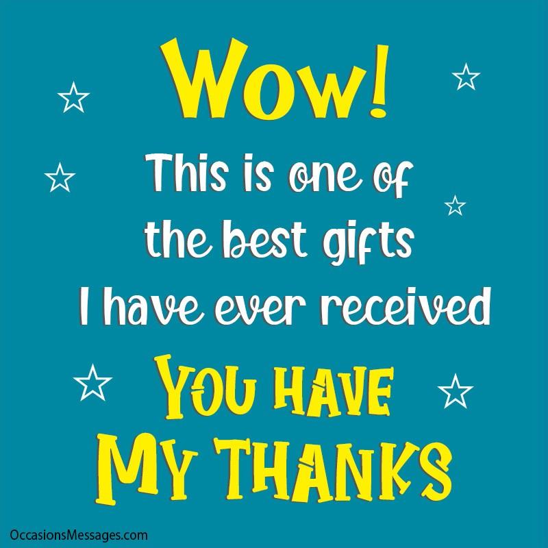 Thank you present for boyfriend