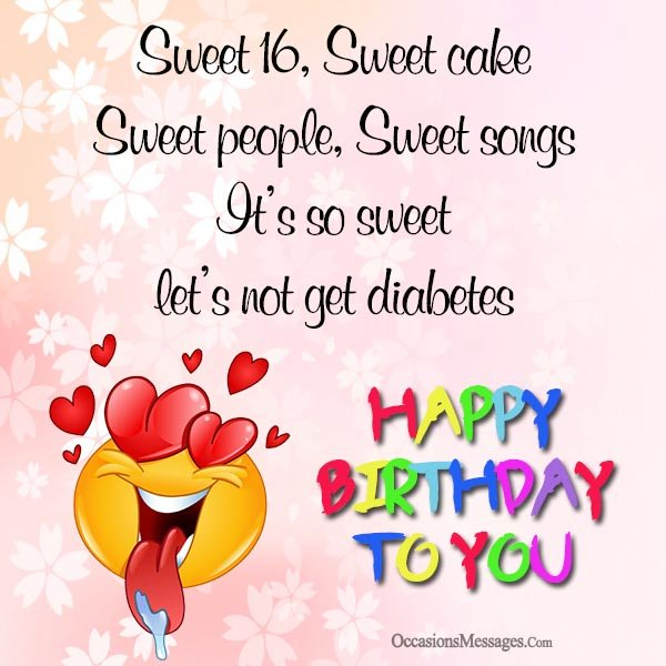 16th birthday wishes sweet sixteen birthday messages happy 16th birthday wishes bookmarktalkfo Choice Image
