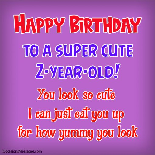 Happy birthday to a super cute 2-year-old. you look so cute.