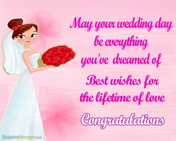 Wedding Wishes For Bride Congratulations Messages For Bride