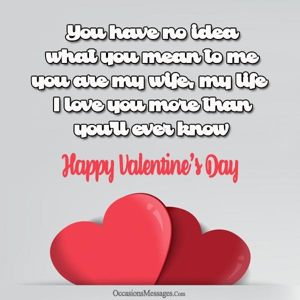 Happy Valentines Day Wife Quotes: Sweet Valentine's Day Messages For Wife