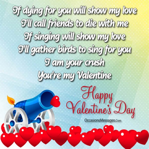 Valentines day messages for crush occasions messages happy valentines day lovely crush messages m4hsunfo