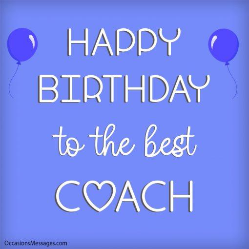 Happy birthday to the best coach