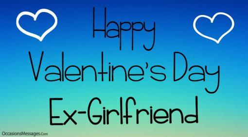 Happy Valentine's Day Ex-girlfriend