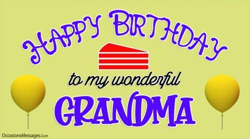 Happy Birthday to my wonderful Grandma.