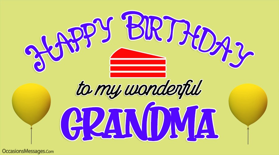 Happy Birthday to my wonderful Grandma.