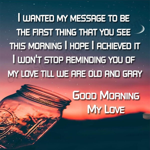 Good Morning Messages For Fiancée Occasions Messages