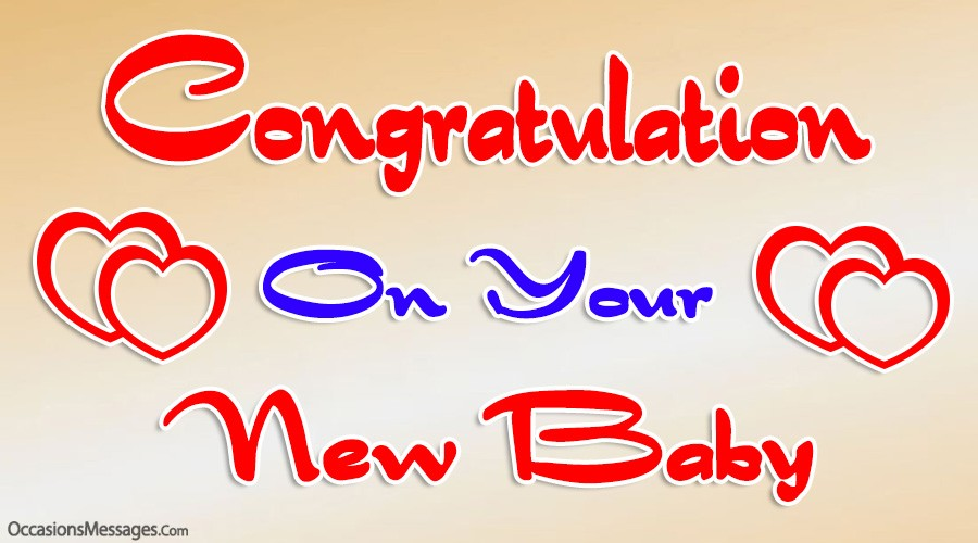 Congratulation on your New Baby