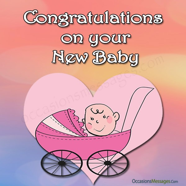 Congratulations Cards on your New Baby