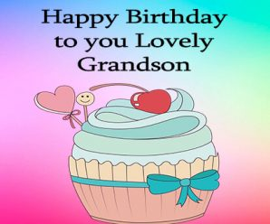 Special Birthday Messages for Grandson