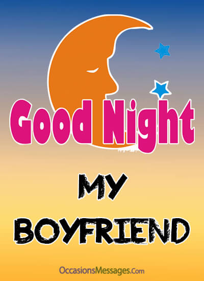 good night cards for boyfriend